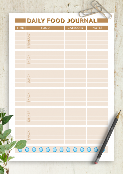 image relating to Printable Meal Planner known as No cost Printable Evening meal Planner Templates - Down load PDF