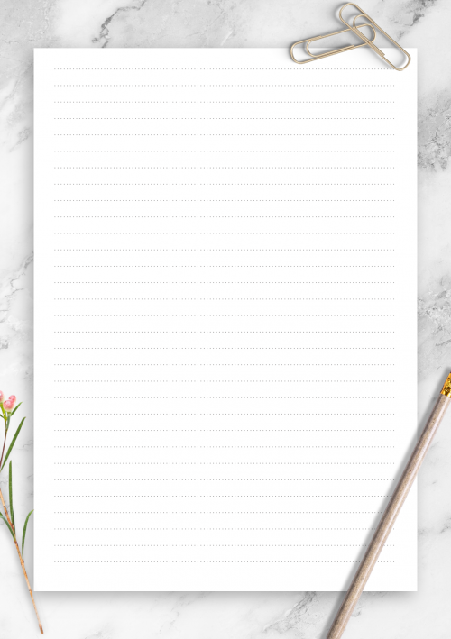 graphic regarding Printable Lined Paper named Coated Paper Template Printables