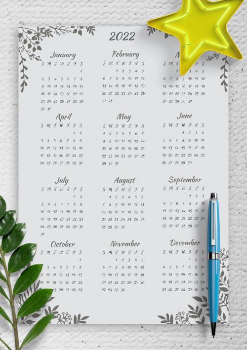 Printable 2020 Calendars Templates Download Pdf