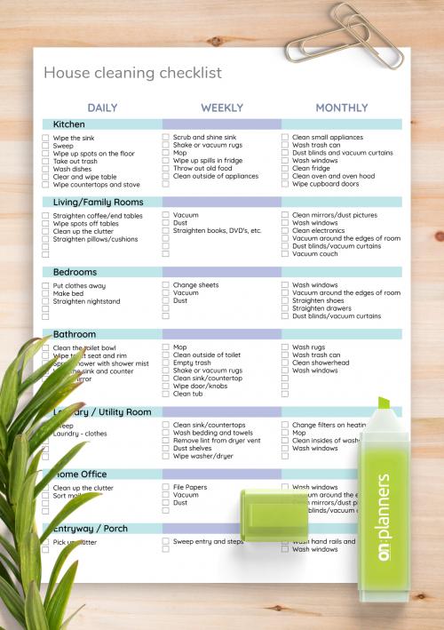 Checklist Templates Download Printable Pdf